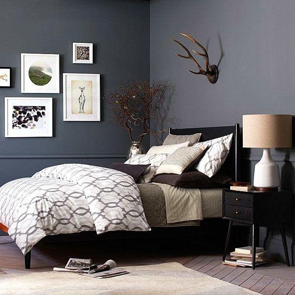 Schlafzimmer Schön Schlafzimmer Graues Bett Begriff: Erregend Schlafzimmer  Grau Ahnung