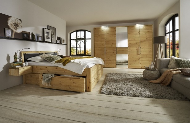 schlafzimmer holz modern. Black Bedroom Furniture Sets. Home Design Ideas