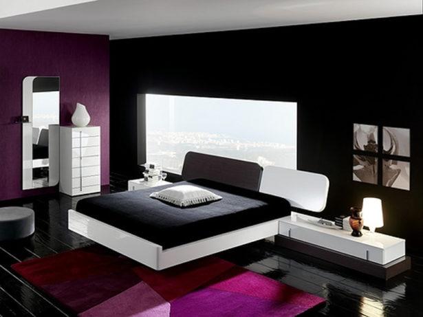 Schlafzimmer ideen schwarz