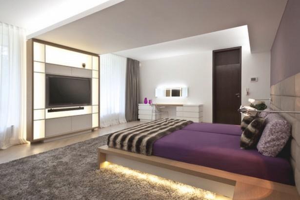schlafzimmer mit fernseher einrichten. Black Bedroom Furniture Sets. Home Design Ideas