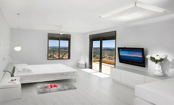 schlafzimmer-modern-gestalten-ideen-dunkel-beige-anthrazit-grau-