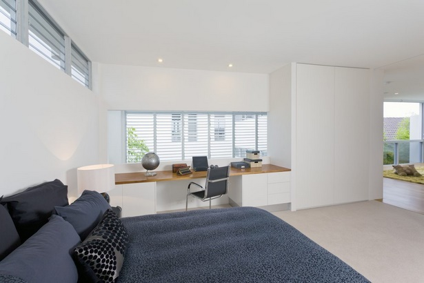 Schlafzimmer Und Büro In Einem Raum