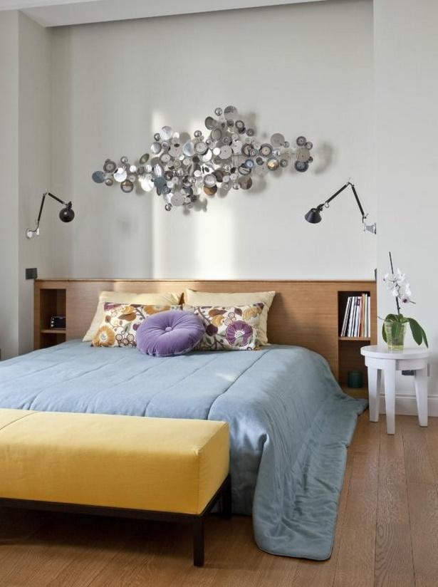 Schlafzimmer wand dekorieren - Schlafzimmer wand ...
