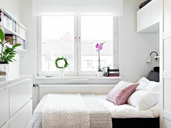 Schlafzimmer weiß einrichten