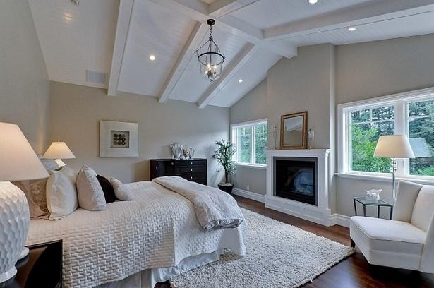 Schöne moderne schlafzimmer