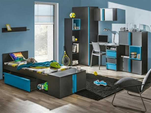 tapeten ideen f r jugendzimmer. Black Bedroom Furniture Sets. Home Design Ideas