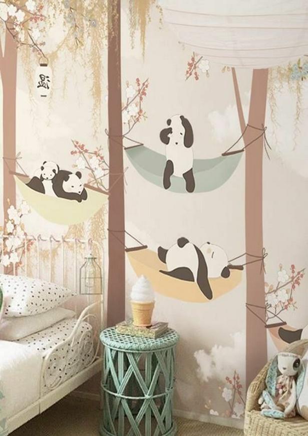 tapeten ideen kinderzimmer. Black Bedroom Furniture Sets. Home Design Ideas
