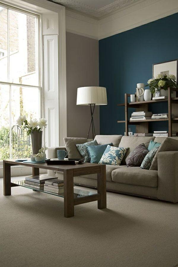 Wandanstrich ideen wohnzimmer for Wohnzimmer farbideen