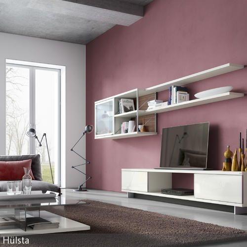 Wandanstrich ideen wohnzimmer - Altrosa schlafzimmer ...