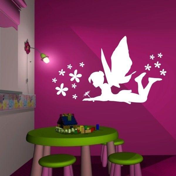 wandbilder kinderzimmer m dchen. Black Bedroom Furniture Sets. Home Design Ideas