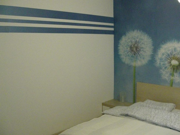 Wandgestaltung schlafzimmer beispiele for Wandgestaltung farbe