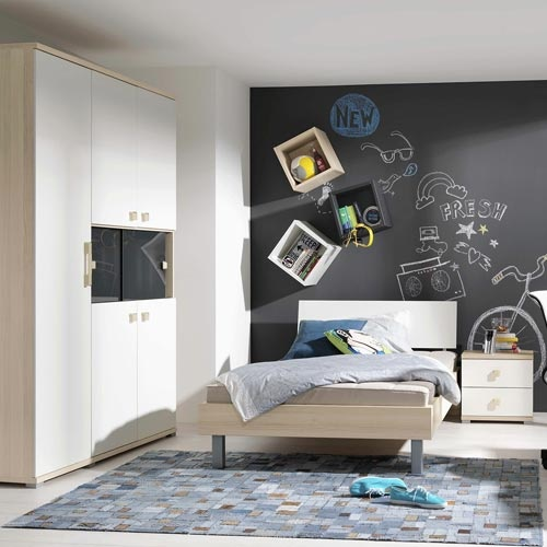 weisse m bel jugendzimmer. Black Bedroom Furniture Sets. Home Design Ideas