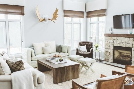 Wohnideen landhausstil wohnzimmer