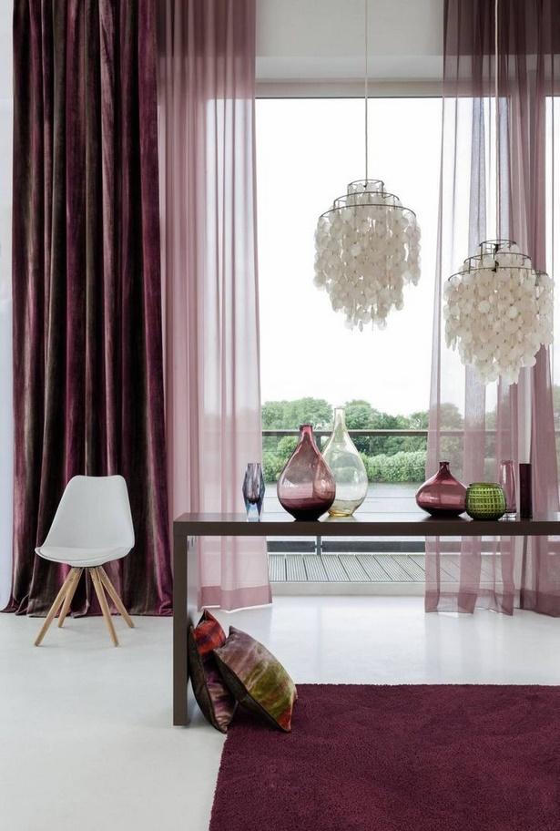 wohnideen vorh nge wohnzimmer. Black Bedroom Furniture Sets. Home Design Ideas