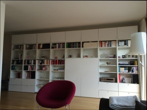 Wohnzimmer ecken gestalten - Durchgangszimmer einrichten ...