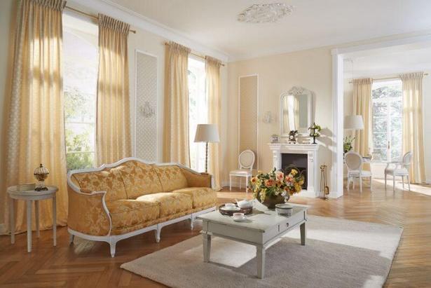 wohnzimmer gardinen idee. Black Bedroom Furniture Sets. Home Design Ideas