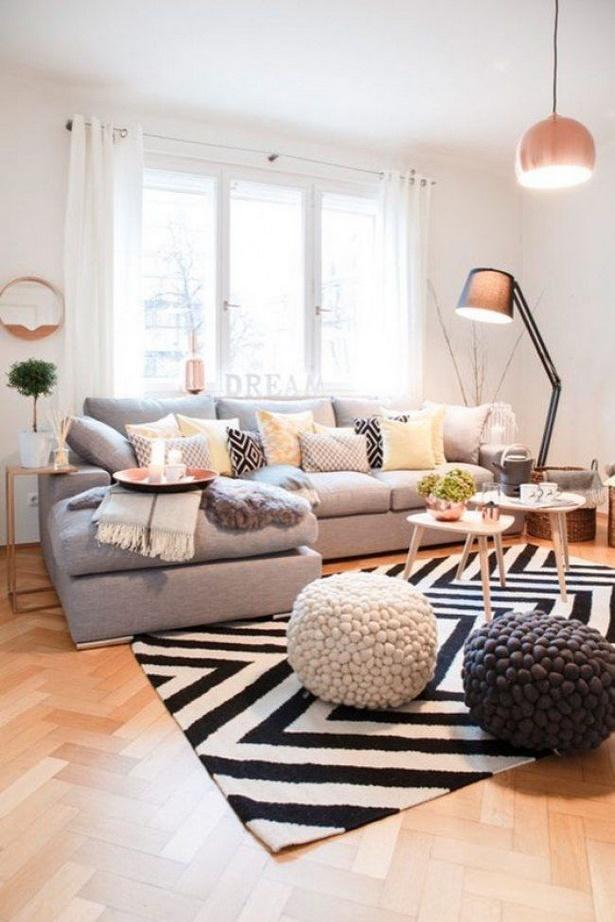 wohnzimmer gem tlich modern