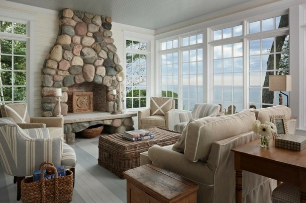 wohnzimmer gestalten landhausstil. Black Bedroom Furniture Sets. Home Design Ideas