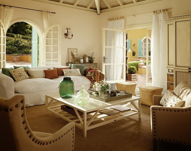 best wohnzimmer landhausstil gestalten ideas house design ideas. Black Bedroom Furniture Sets. Home Design Ideas