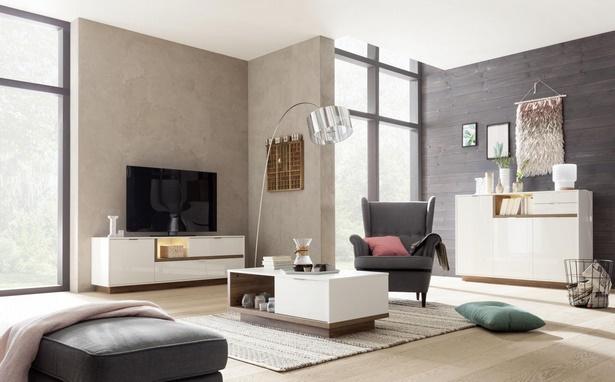 Wohnzimmer holz modern for Tendance deco interieur