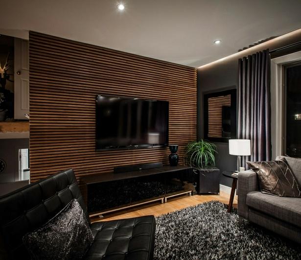 Wohnzimmer Holz Modern
