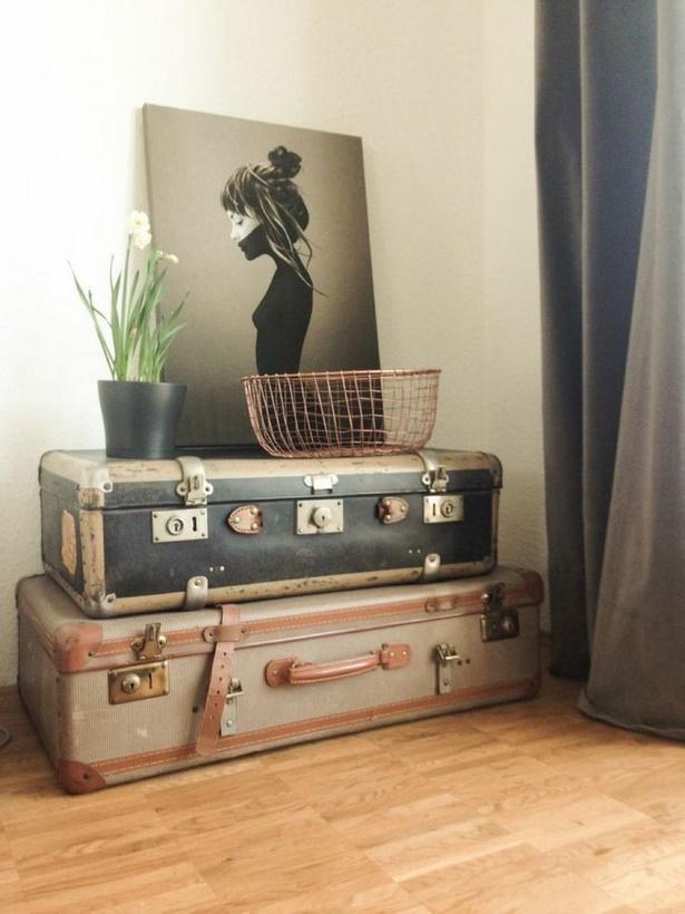 wohnzimmer ideen vintage