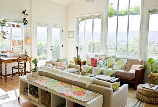 Wohnzimmer im landhausstil einrichten