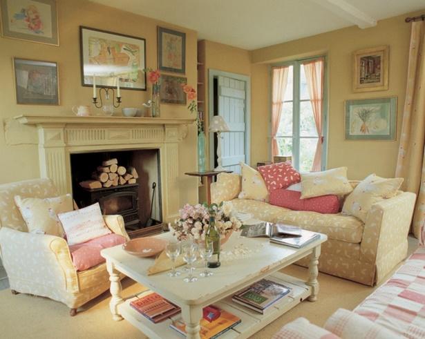 Wohnzimmer im landhausstil einrichten for Wohnzimmer im landhausstil