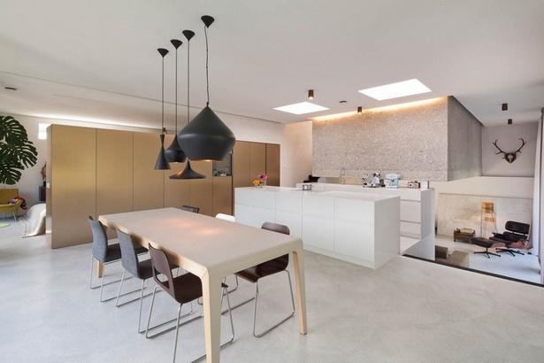 Wohnzimmer mit essbereich ideen for Graues esszimmer