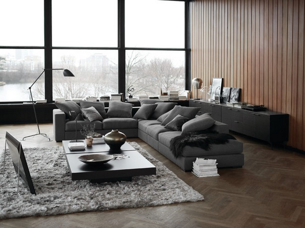 wohnzimmer modern bilder. Black Bedroom Furniture Sets. Home Design Ideas