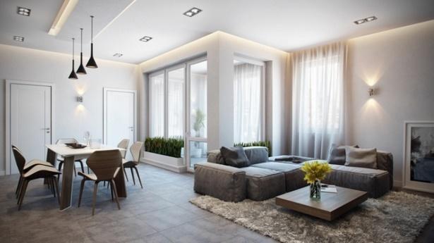 wohnzimmer modern einrichten ideen. Black Bedroom Furniture Sets. Home Design Ideas