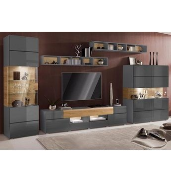 wohnzimmer modern rustikal. Black Bedroom Furniture Sets. Home Design Ideas