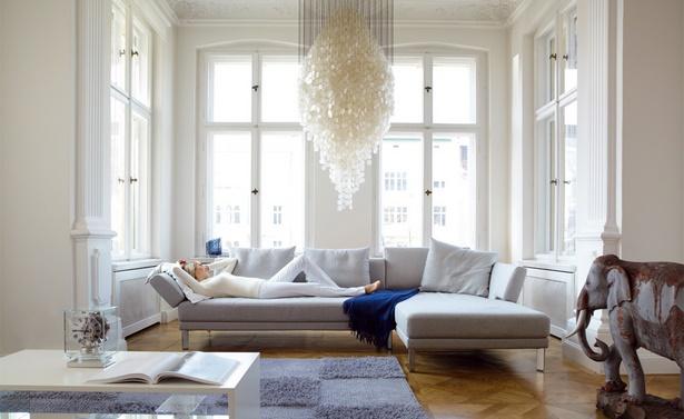 Wohnzimmer modern und gemütlich