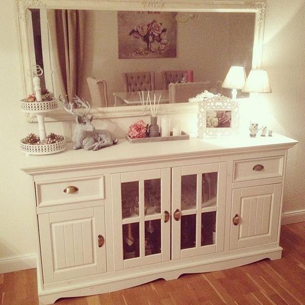 Wohnzimmer romantisch einrichten