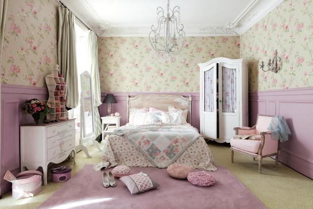 Wohnzimmer romantisch einrichten - Schlafzimmer vintage ...