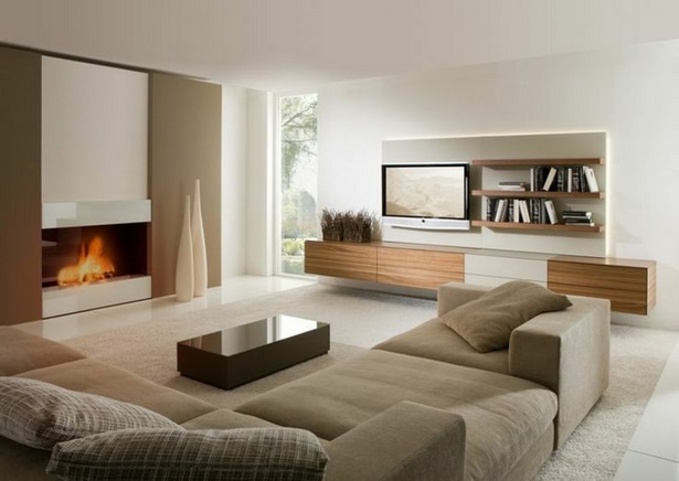 Wohnzimmerboden modern