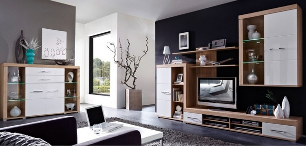 wohnzimmerm bel komplett. Black Bedroom Furniture Sets. Home Design Ideas