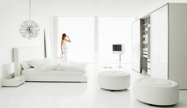 Zimmer einrichten wei e m bel - Modernes schlafzimmer einrichten ...