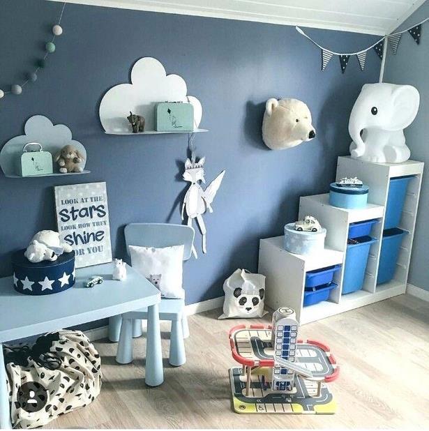 babyzimmer dekorieren junge