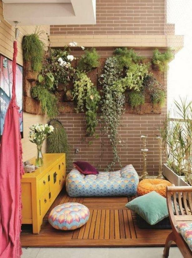 balkon deko idee. Black Bedroom Furniture Sets. Home Design Ideas