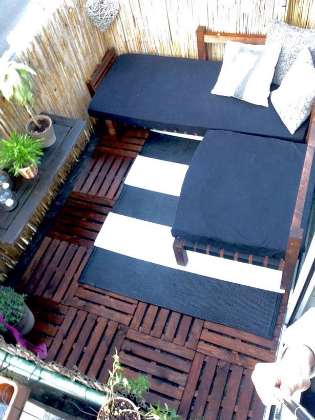 balkon gestalten diy. Black Bedroom Furniture Sets. Home Design Ideas