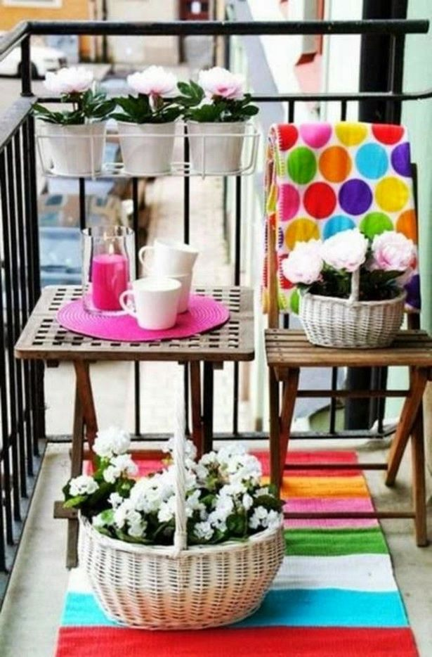 balkon schmal gestalten. Black Bedroom Furniture Sets. Home Design Ideas