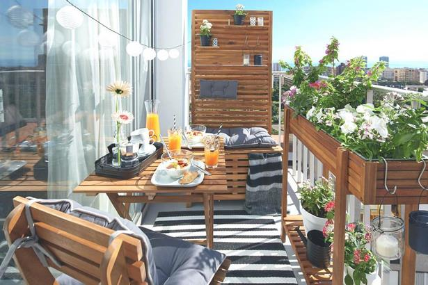 balkon schmal gestalten. Black Bedroom Furniture Sets. Home Design Ideas