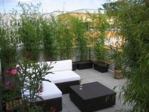 balkon sichtschutz blumen. Black Bedroom Furniture Sets. Home Design Ideas