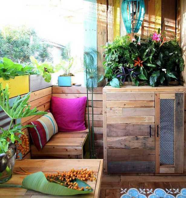 balkongestaltung ideen bilder. Black Bedroom Furniture Sets. Home Design Ideas