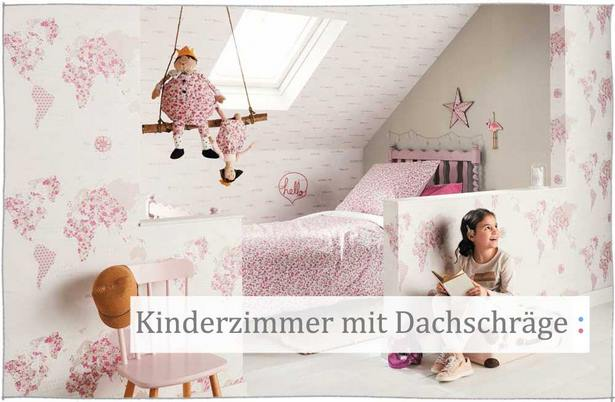 deko ideen kinderzimmer mit schr ge. Black Bedroom Furniture Sets. Home Design Ideas