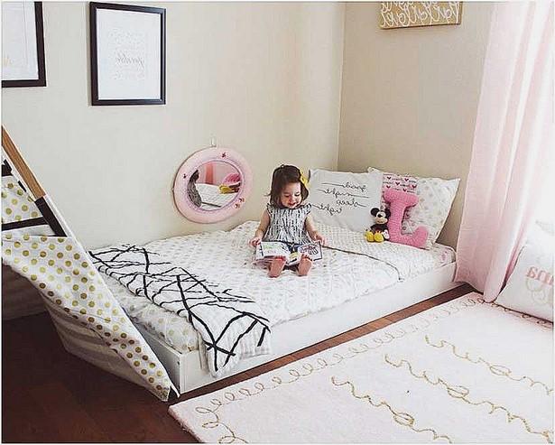 kinderbett dekorieren. Black Bedroom Furniture Sets. Home Design Ideas