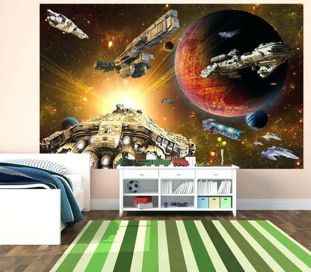 Kinderzimmer Deko Weltraum