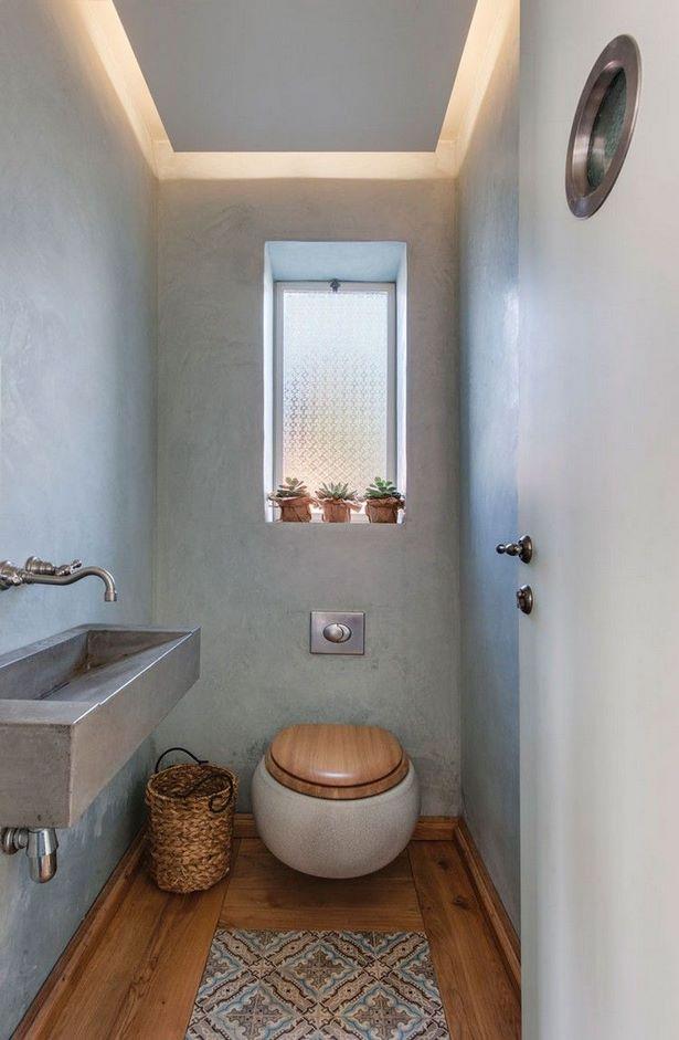 Badezimmer kreativ gestalten for Toiletten fliesen beispiele