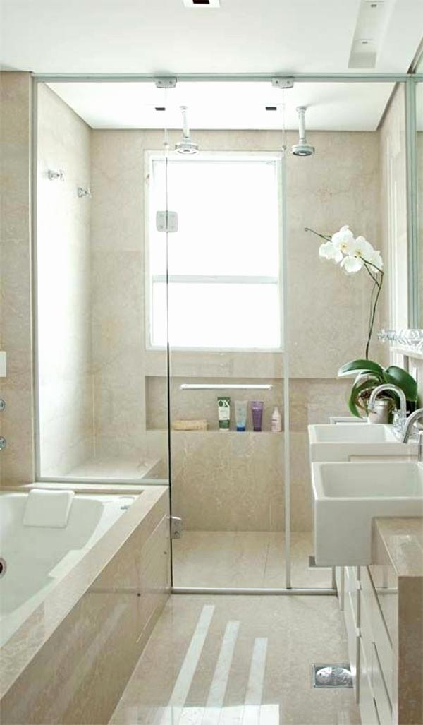 Badgestaltung dusche - Bad kieselsteine ...